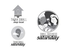 Dribbble - Think Small Saturday by Marc #icon #logo #illustration