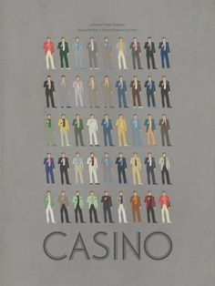 Ibraheem Youssef | Tumblr #movie #retro #attire #gambling #poster #snazzy #casino #suits #suit #style