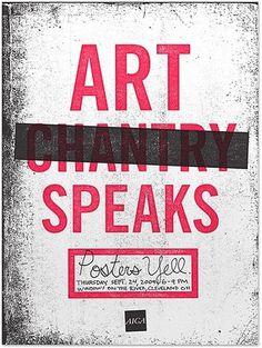 FFFFOUND! | Mikey Burton / Graphic Design, Illustration and Letterpress #mikey #posters #art #chantry #burton #aiga