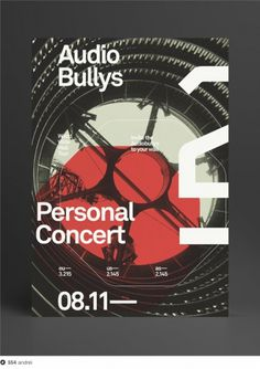 Audio Bullys on Dropula - The inspirational catalogue #poster #typography