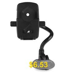 KELIMA #010 #Car #Adjustable #Long #Arm #Suction #Phones #Holder #- #BLACK