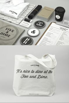 FIVE & DIME #branding #packaging #design #brand #identity