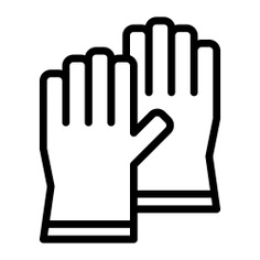 See more icon inspiration related to glove, rubber, hands and gestures, latex, housekeeping, equipment, protection, laundry, fashion, gloves, security and medical on Flaticon.