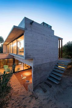 Concrete Weekend Retreat in Buenos Aires, Argentina 15