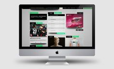 FC Wurzburg (Identity Design) on the Behance Network #website #nike #interactive #green