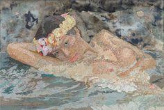 Image of Matthew Cusick Oceania #gallery #news #edition #prints #contemporary #art #artist