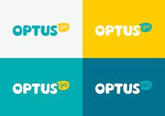 Optus Logo #stationery #identity #advertising