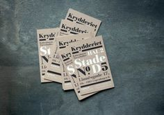 Identity – Krydderiet, Denmark on Branding Served #branding #krydderiet #denmark #served #identity