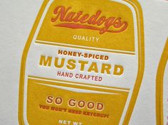 Natedogs_Label_detail2.jpg (imagem JPEG, 900×675 pixels) #yellow #typography