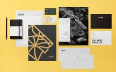 Roar Groupe | Mast #business #card #print #envelope #stationery #letterhead #folder