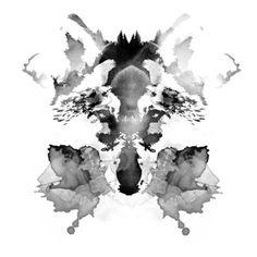 Rorschach Art Print by Robert Farkas | Society6