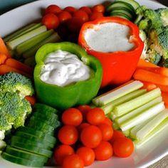 Dip #food #healthy #vegetable #oarty #decoration