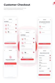 UI/UX   Smart Pharmacy app