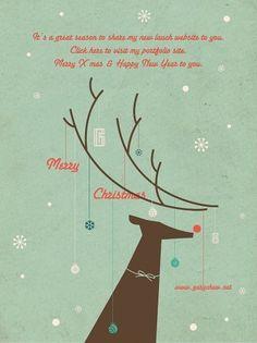 404847_298323516872384_259829394055130_784659_1785155635_n.jpg (719×960) #christmas #deer