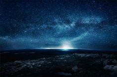 bbae82caba56fe330bd0f448d182bcb7.jpg 599×398 pixels #night #earth #stars
