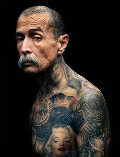 Eric Schwartz #tattoo #photography #moustache #portrait