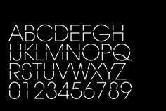 Likes | Tumblr #stencil #alphabet #typography