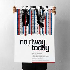 projectgraphics - typo/graphic posters #kosovo #norway #theatre #today #prishtina #projectgraphics #poster #play
