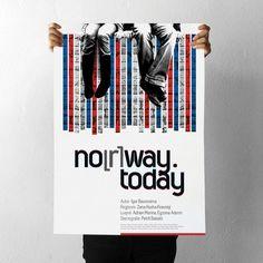 projectgraphics - typo/graphic posters #kosovo #norway #theatre #today #prishtina #projectgraphics #poster #play