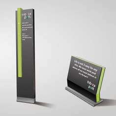 Wayfinding | Signage | Sign | Design 物业小区户外导视牌