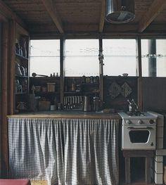 Finnish Summer homes #kitchen #interiors