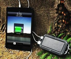 PowerPak Charger And Battery Pack For Smartphones And Tablets #gadget