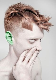 FFFFOUND! | Der Schöne Karls Fotos - Profilbilder #greenear