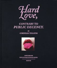 Hard Love cover #editorial #design #love #hard