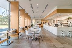 BlendIn Coffee Club - Interior #interiordesign #coffee #houston