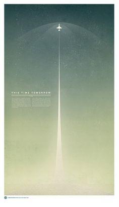 http://pinterest.com/pin/55380270387683624/ #poster #space #plane