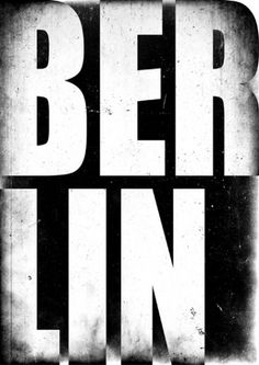 Typography Duh. #berlin #poster #typography