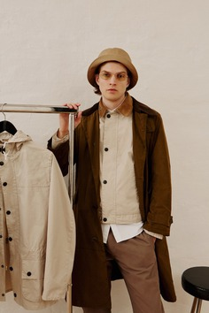 Adrian Bosch Dons Wood Wood x Barbour Made for Japan Collab