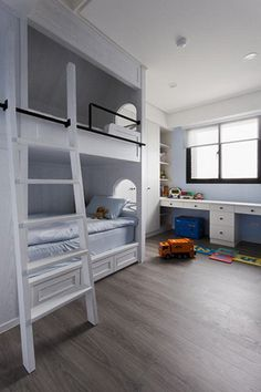 30+ Beautiful Bunk Room Ideas for Kids