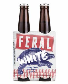 Feral White Packaging #campaign #beer