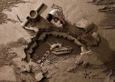 Colossal | An art and design blog. #sand