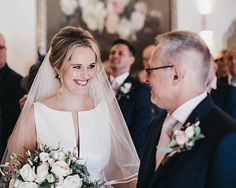 As the bride's father, you have the honor of making the first toast at her wedding reception. If you have previously written a father of the bride speeches, this might not seem overwhelming.
