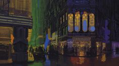 Blade Runner concept - Syd Mead