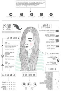My CV/Resume on Behance #cv #illustration
