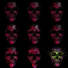 Dark Light – INSgraphizm remix on the Behance Network #displacement #map #kull