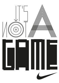 HORT vs NIKE #nike #design #short #typography