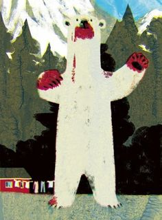 Advertising, etc. : Tatsuro Kiuchi Illustration #tatsuro #bear #japan
