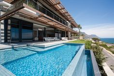 Extravagant Modern Living in South Africa: SAOTA's Kloof 151 Project #architecture #modern