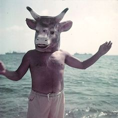 [Mystère #12] Pablo Picasso avec un masque de taureau | La boite verte