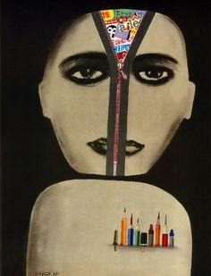 All sizes   Riccardo Manzi Illustration 1965   Flickr - Photo Sharing! #pirelli #manzi #illustration #riccardo #1965
