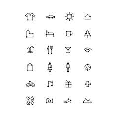 ICONS on the Behance Network #icon #pictogram