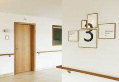 swissmiss | Retirement Facitlity Signage #swiss #a #interesting #wayfinding #retirement #for