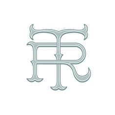 TR logo on the Behance Network #eight #identity #seven #logo #v7p8