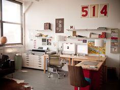 studio! | Flickr - Photo Sharing! #interior #hische #jessica #studio #workspace