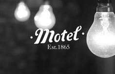 FFFFOUND! #branding #design #motel #vintage #logo