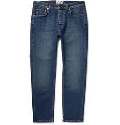 ACNE Town Slim-Fit Washed-Denim Jeans